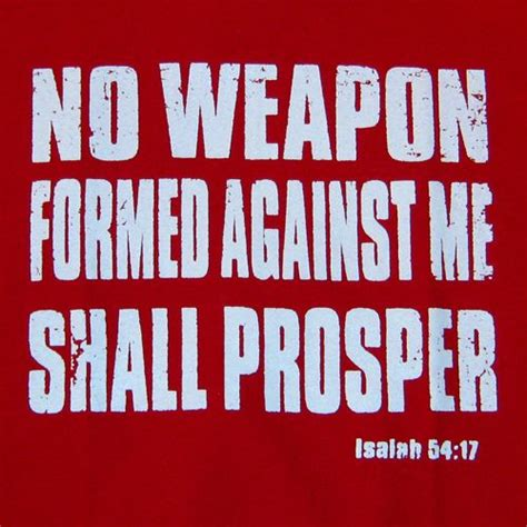 no weapon formed against me shall prosper tattoo isaiah 54 17 inspiration