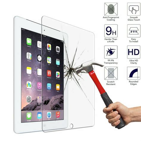 Tempered Glass Pro 9 7 Inch pro 9 7 inch tempered glass screen protector quality
