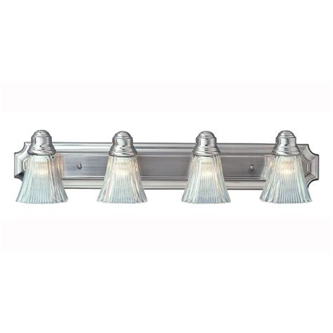 brushed nickel bathroom light bar bel air lighting 4 light brushed nickel bath bar light