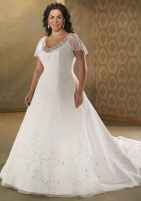 Wedding dresses for large women