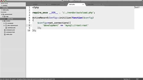 tutorial php activerecord easy php database handling with php activerecord youtube