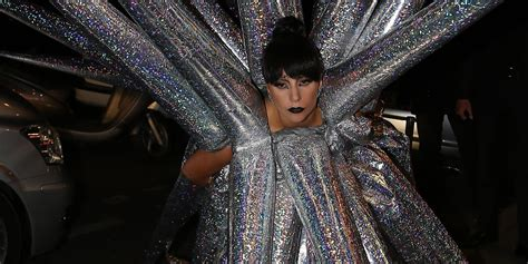 Dress Gaga gaga s dress might be least wearable yet huffpost
