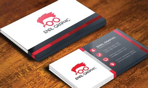 Print Ready Business Card Template Illustrator by Design Business Card With Adobe Illustrator Best