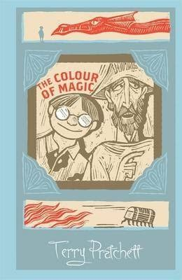 the color of magic book the colour of magic terry pratchett 9781473205321