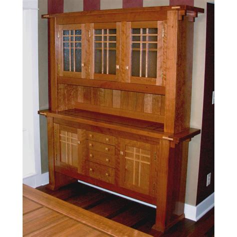hutches for dining room hand made dining room hutch by mevans design custommade com