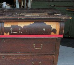 Decoupage Laminate Furniture - furniture makeovers on metal lockers how to