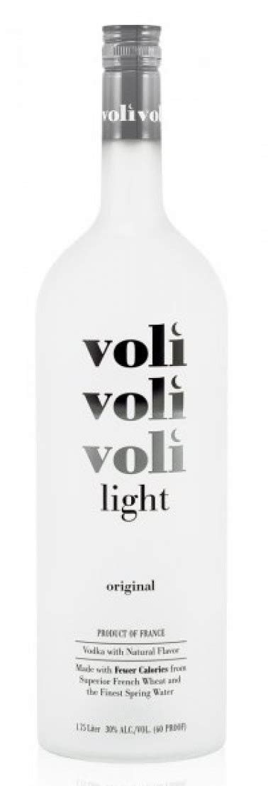 light with vodka voli vodka light original warehouse wines spirits