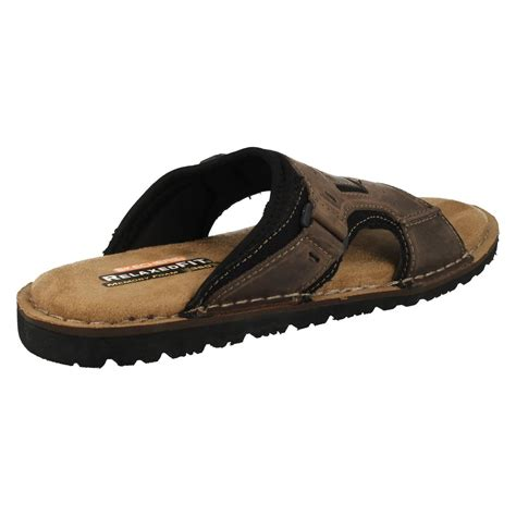 skechers sandals for mens skechers with memory foam sandals golson ebay