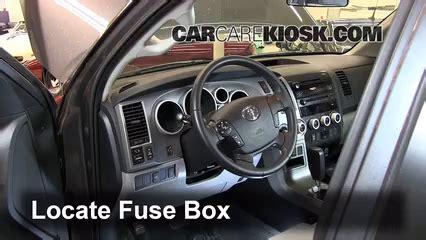 Interior Fuse Box Location 2008 2019 Toyota Sequoia