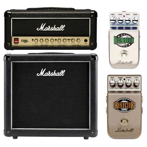 marshall dslh mini stack   pedals  gearmusic