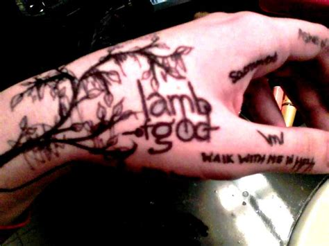 lamb of god tattoos of god by heavymetalherpderp on deviantart