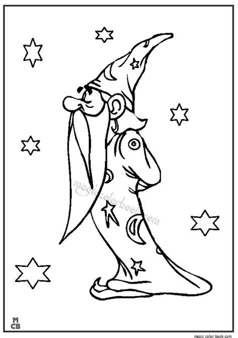 coloring book of magic magic coloring pages book 01