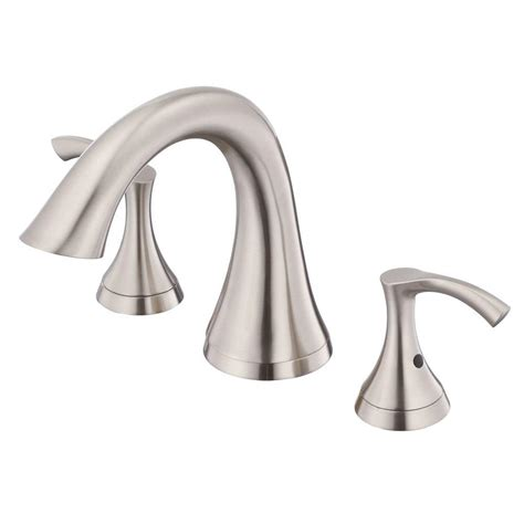 danze antioch roman tub faucet in brushed nickel trim only