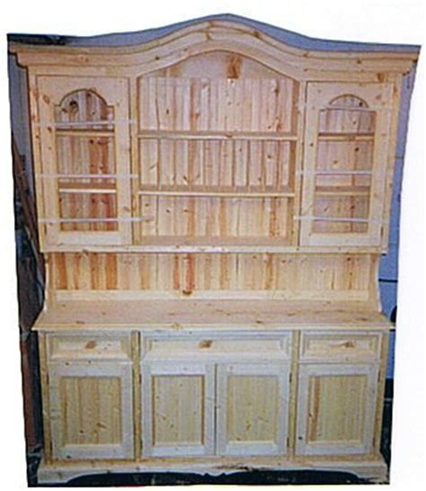 Build China Cabinet by Build Wooden China Hutch Plans Plans Cheap Modern