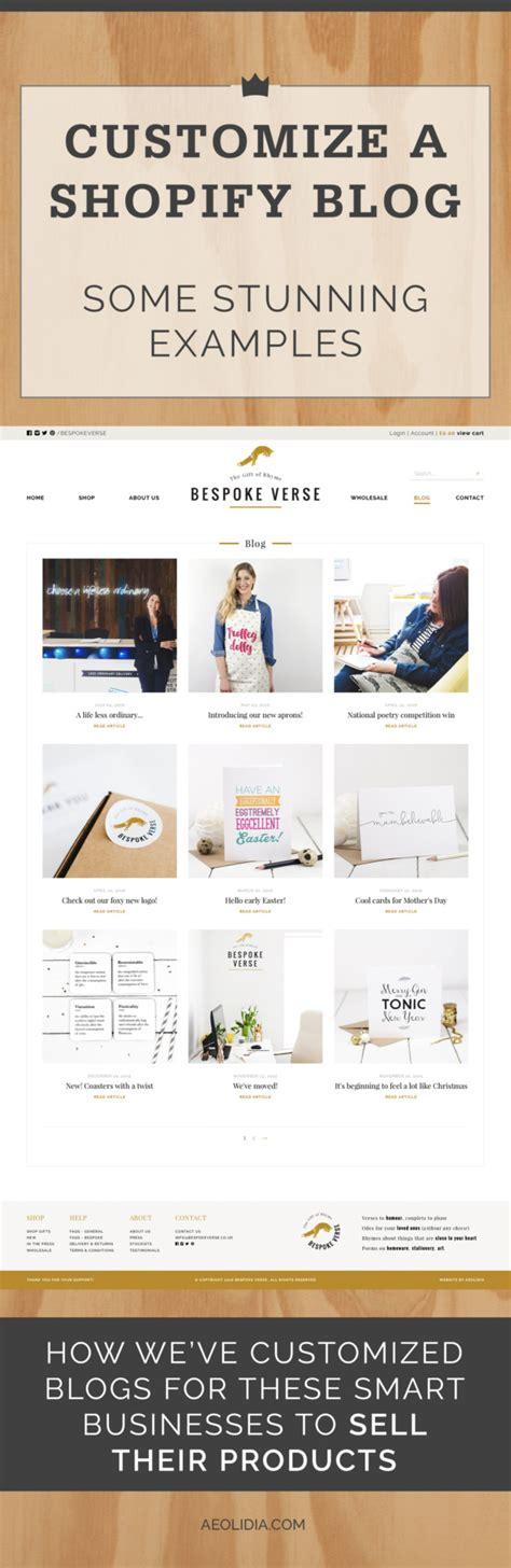 blog layout shopify shopify blog exles from the aeolidia portfolio aeolidia