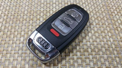 audi key fobs how to change smartkey key fob battery on audi a5 a3 a4 s4
