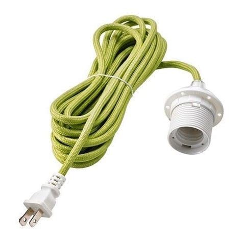 L Socket And Cord Set by Hemma Ceiling Pendant L Light Cord Set With Bulb