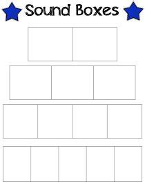 elkonin boxes template guided reading reading and grade on
