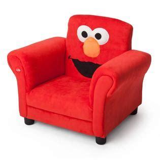 elmo toddler chair delta children sesame elmo giggle upholstered chair