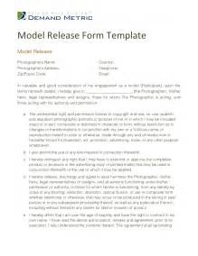 photography model release form template model release form template