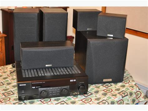 sold kenwood 500 watt 5 1 dolby dts surround sound