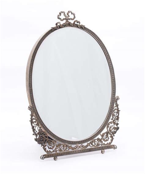 specchio da tavolo specchio da tavolo in argento traforato argenti e