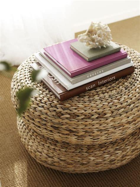 ikea wicker ottoman alseda stool banana fiber beautiful floor cushions and
