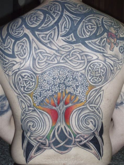 celtic tree tattoo 44 celtic tree tattoos on back
