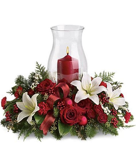 christmas centerpieces holiday glow centerpiece