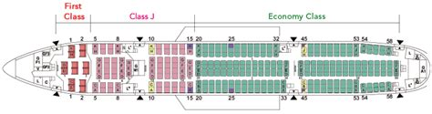 dc10 seating plan japan airlines 777 200 777 772 jal aircraft collection