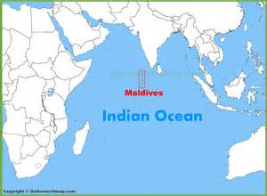 Maldives On World Map by Maldives Map And Location Of Islands Pictures To Pin On