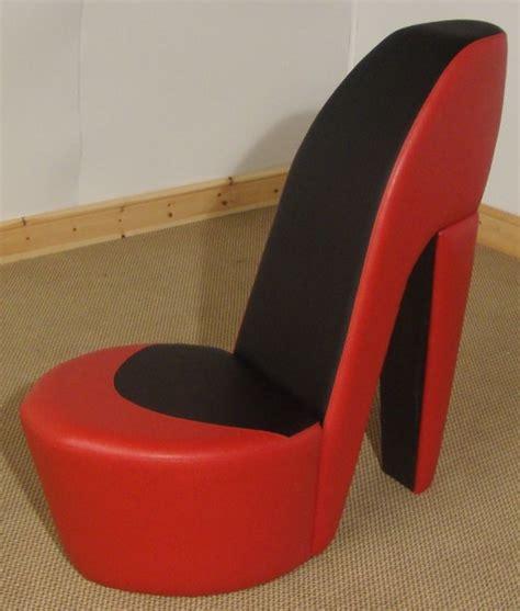 Stiletto Shoe Chair by Black Shoe High Heel Stiletto Chair