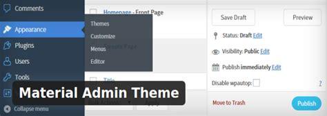 make theme admin easy guide to customize your wordpress admin area seeromega