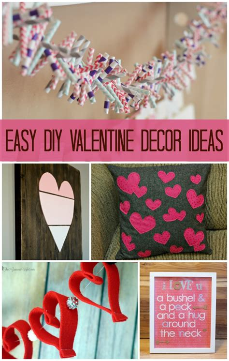 easy diy valentines decorations best recipes diy projects link 82 tgif this