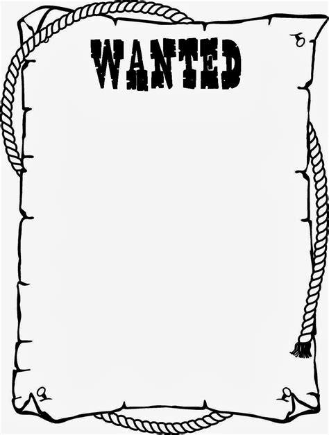wanted poster black and white clipart clipart suggest