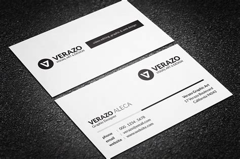 card template black and white simple black white business card business card