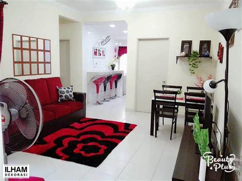 dekorasi rumah flat kos rendah desainrumahidcom