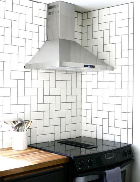 diy herringbone tile backsplash 66 best diy kitchen ideas images on pinterest diy