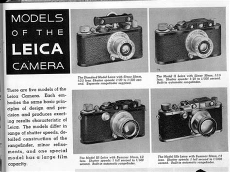 leica history disruptive innovation and the leica history