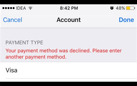 apple your payment method was declined why is my credit card declined on itunes infocard co