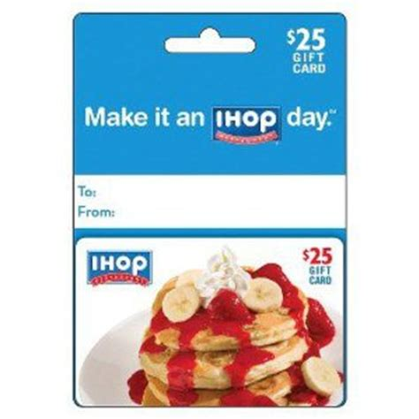 ihop printable gift cards ihop 25 gift card from target