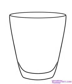 How To Draw A Glass Step By Stuff Pop Culture FREE Online  sketch template