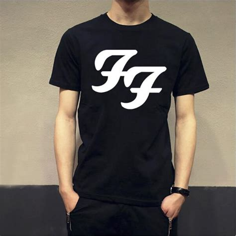 T Shirt Foo Fighters Zero X Store 2016 new summer fashion foo fighters wasting light t shirt summer tops casual and cotton