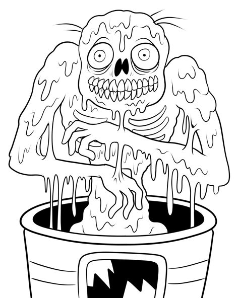 printable coloring pages zombies free printable zombies coloring pages for kids