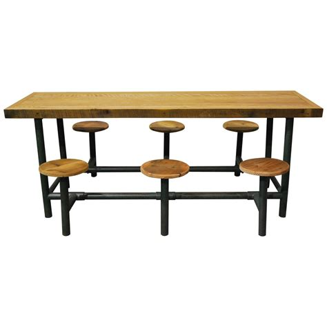 Lunch Tables by Factory Lunch Room Flip Table At 1stdibs