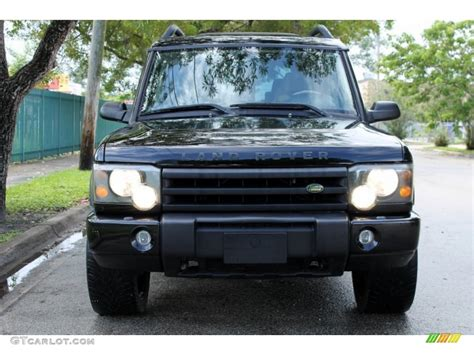 land rover discovery black 2004 java black 2004 land rover discovery se7 exterior photo