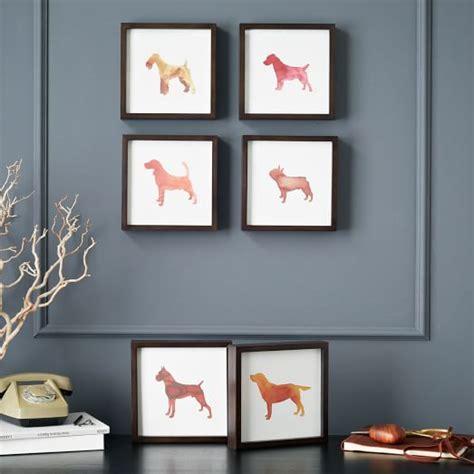 dog wall art dog print wall art boxer west elm