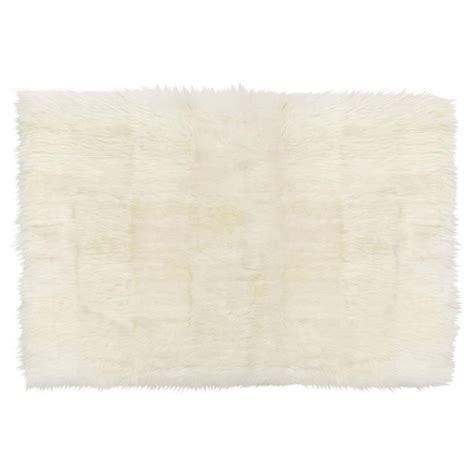 ivory fur rug turan modern ivory wool sheepskin fur rug 6 6 x 9 6 kathy kuo home