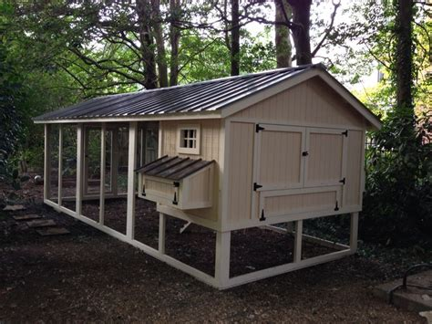 large 8x20 chicken coop backyard chicken coops