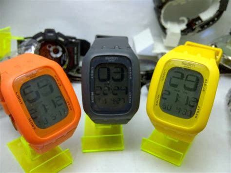 Jam Tangan Swatch Digital swatch touch screen delta jam tangan
